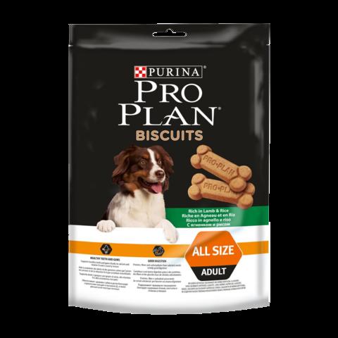Purina Pro Plan Biscuits Лакомство для собак с ягненком и рисом