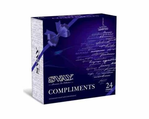 Подарочный набор 4 вида чая Svay Compliments