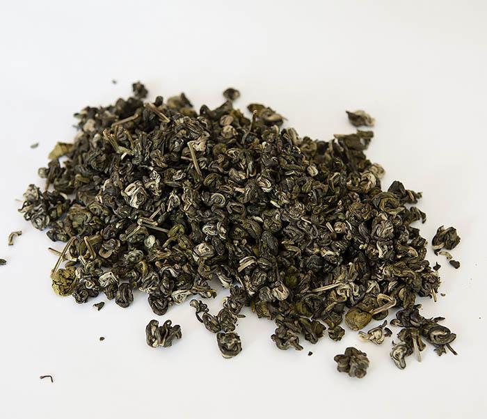 TEA-CH101 Зеленый чай «Изумрудные Спирали Весны» (Билочунь, Юньнань, 50 гр) фото 03