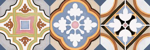 Плитка настенная Sanders Elise  600х200