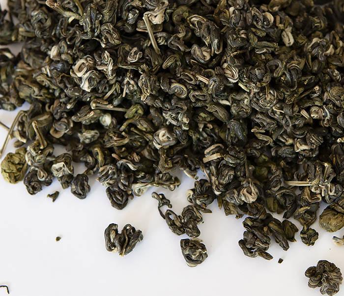 TEA-CH101 Зеленый чай «Изумрудные Спирали Весны» (Билочунь, Юньнань, 50 гр)