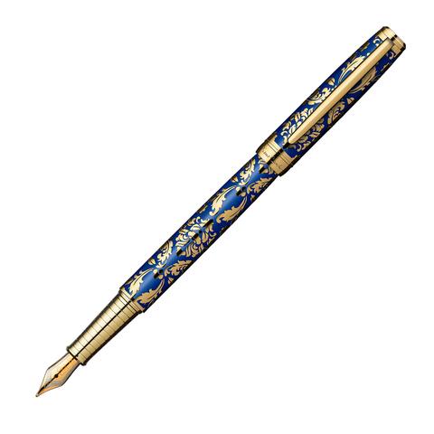 Pierre Cardin Renaissance - Blue Gold, ручка перьевая, M