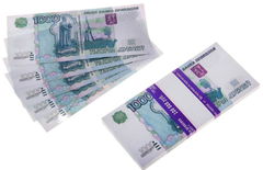 Пачка купюр 1000 руб. (дублей)