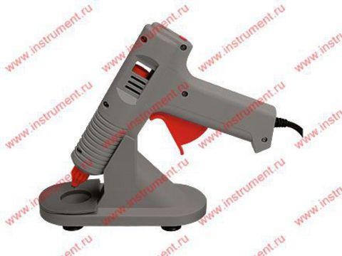 Термоклеевой пистолет с регулировкой температуры MATRIX с подставкой