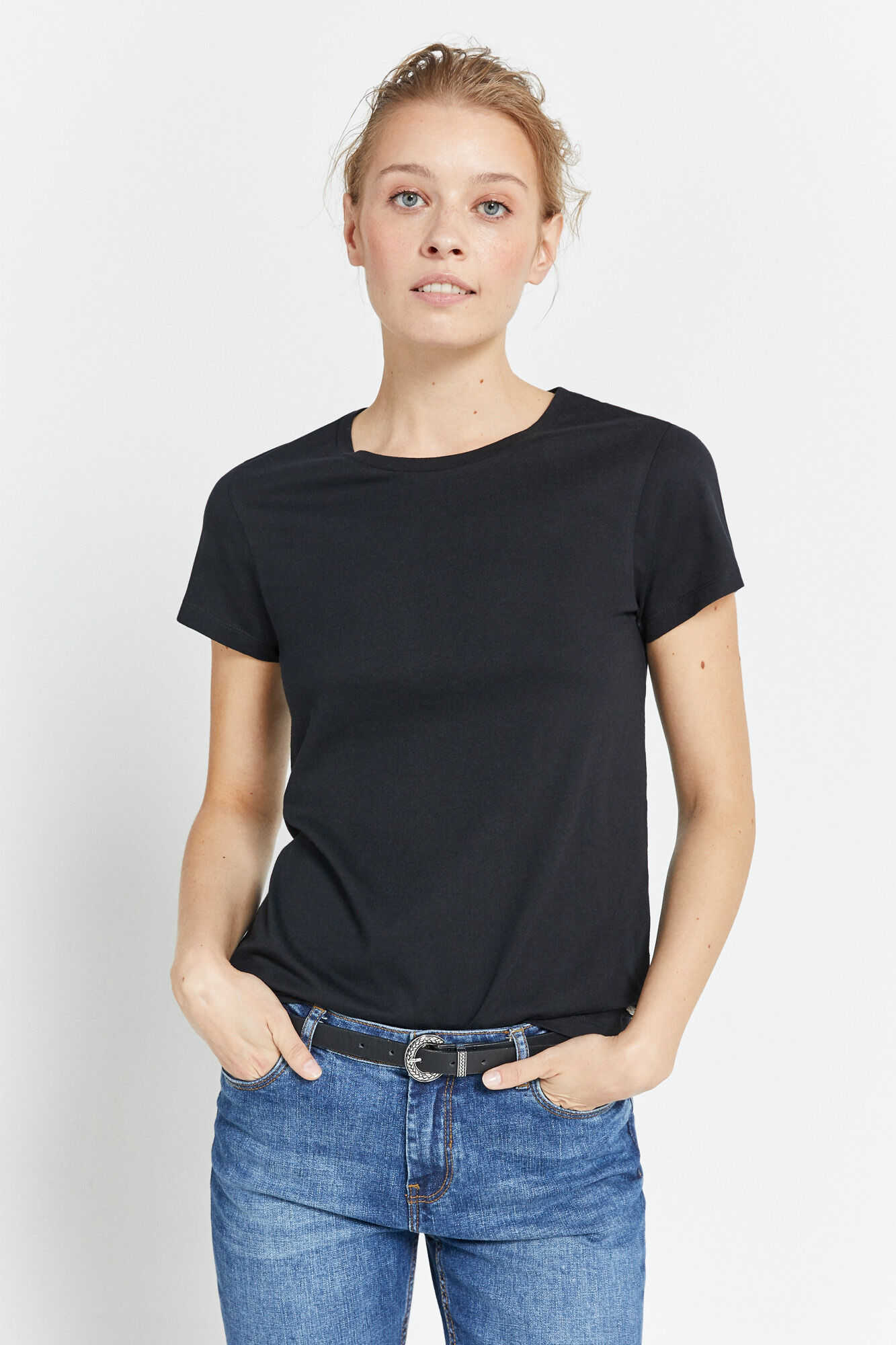 Базовая футболка из хлопка