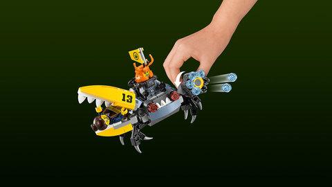 LEGO Ninjago Movie: Самолёт-молния Джея 70614 — Lightning Jet — Лего Ниндзяго фильм