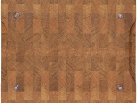 деревянная Торцевая разделочная доска дуб 40х30х4 см