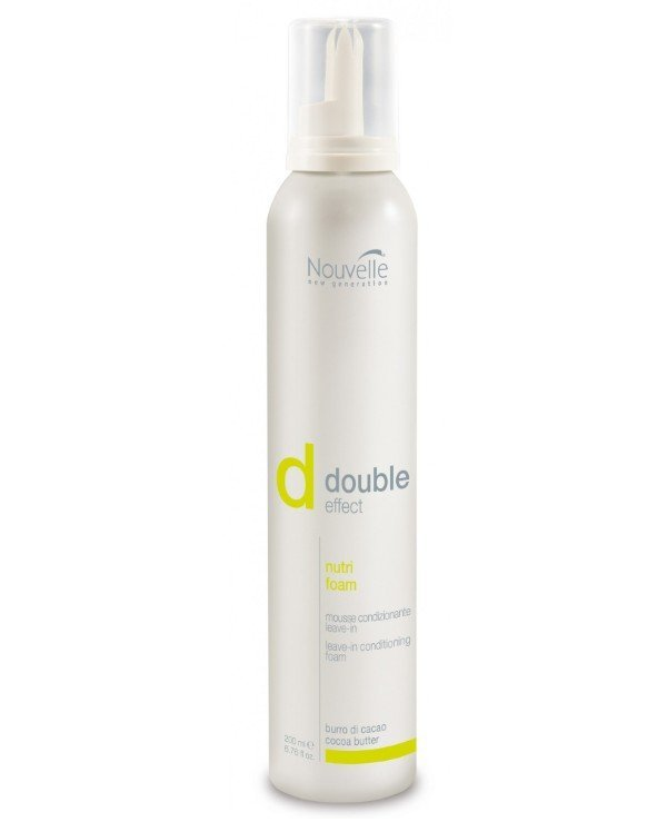 Кондиционер-мусс Nouvelle Double Effect Nutri Foam 200мл