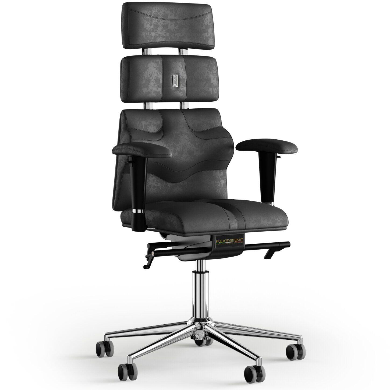 Кресло KULIK SYSTEM PYRAMID Антара с подголовником без строчки