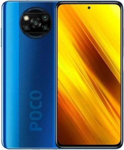 Смартфон Xiaomi Poco X3 NFC 6/64GB Blue (Синий)