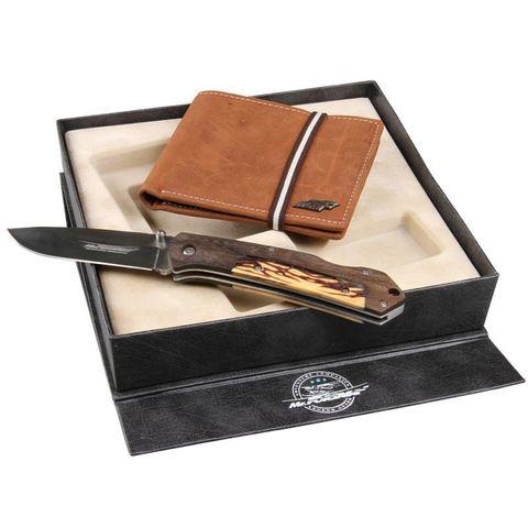 800021 Набор: Нож + портмоне