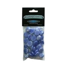 Набор синих непрозрачных маркеров (30 штук)