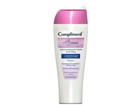 Compliment A-THERMAL увлажняющий тоник для лица с аминокислотами и коэнзимом Q10