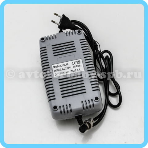 Зарядное уcтройство для аккумулятора 48V
