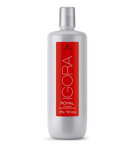 Лосьон-окислитель на масляной основе 3% Igora Royal Oil Developer, Schwarzkopf,  1000 мл