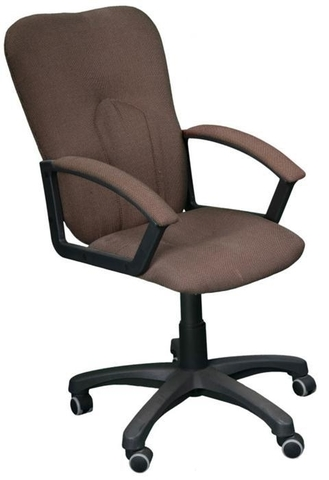 Кресло ПРЕМЬЕР 5Н газлифт ткань темно-коричневая