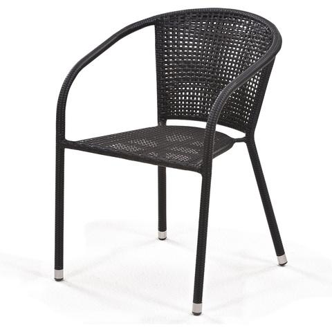 Плетеное кресло Y137B Dark brown