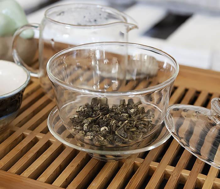 TEA-CH101 Зеленый чай «Изумрудные Спирали Весны» (Билочунь, Юньнань, 50 гр) фото 07