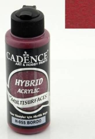 №55 Hybrid Acrylic, Бордо, 70мл., Cadence