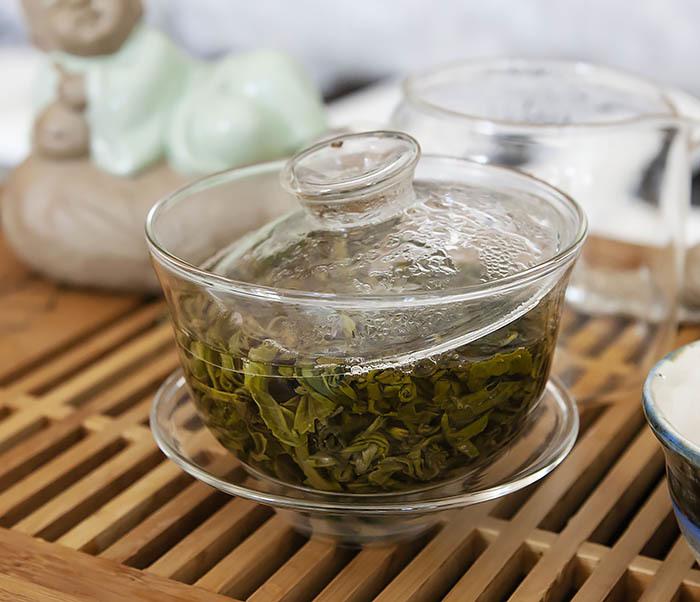 TEA-CH101 Зеленый чай «Изумрудные Спирали Весны» (Билочунь, Юньнань, 50 гр) фото 08