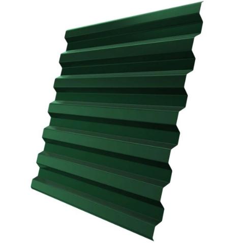 Профнастил С21х1051 мм RAL 6005 Зеленый мох