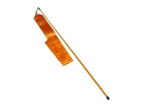 Лента гимнастическая. Цвет оранжевый: АВ228