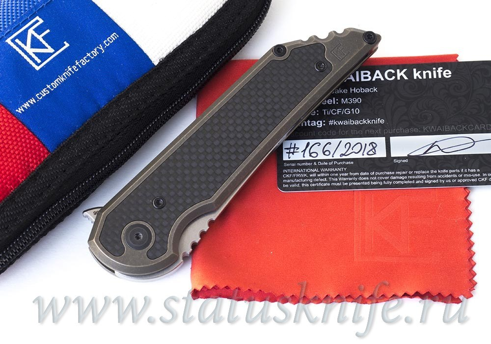 Нож CKF/Hoback KWAIBACK collab