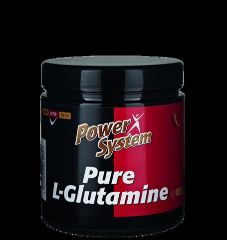 Л-Глутамин, порошок в банке 400гр. Пауэр систем