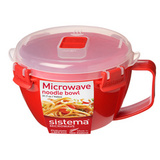 Кружка для лапши Microwave 940 мл, артикул 1109, производитель - Sistema