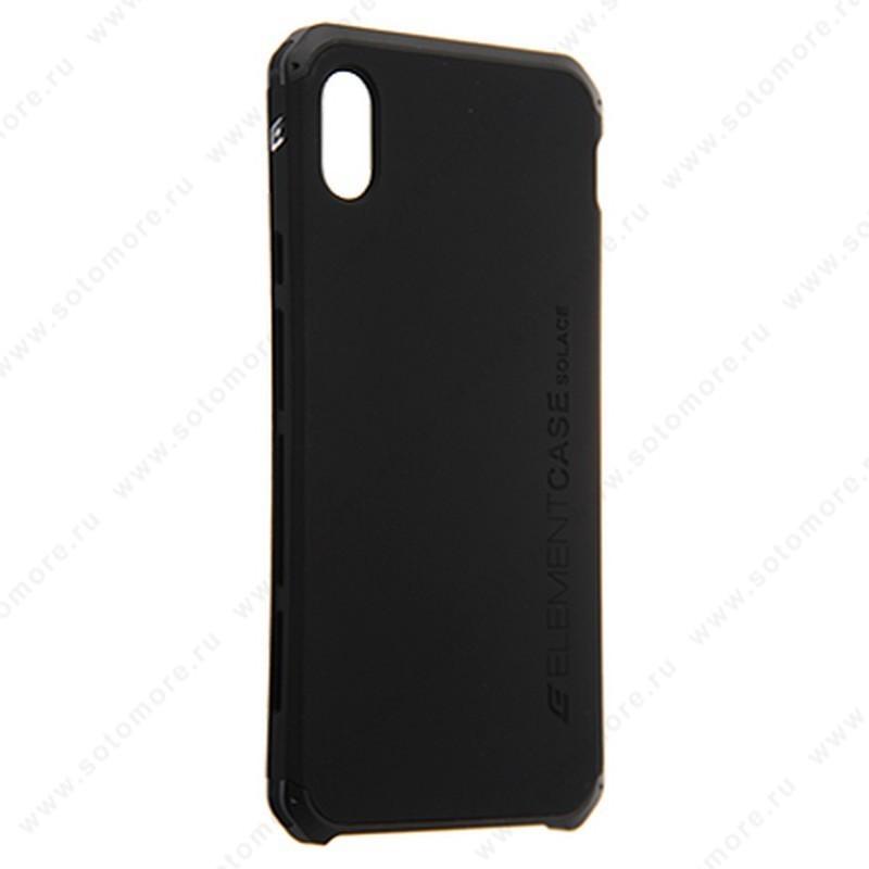 Накладка ELEMENT CASE для iPhone XS Max черный