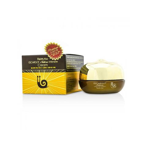 Крем интенсивно восстанавливающий против морщин с экстрактом королевской улитки FarmStay Escargot Noblesse Intensive Cream 50мл
