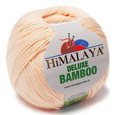 Пряжа Himalaya Deluxe Bamboo 124-04 персик