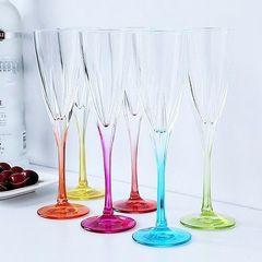 Набор фужеров для шампанского RCR Fusion цветные 170мл (6 шт), фото 4