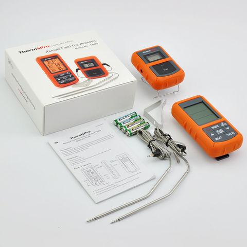 Беспроводной кулинарный термометр ThermoPro TP-20S (2 термозонда)