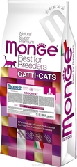 Monge Cat Indoor сухой корм для кошек проживающих дома с курицей 10 кг