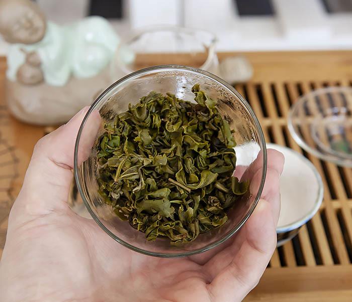 TEA-CH101 Зеленый чай «Изумрудные Спирали Весны» (Билочунь, Юньнань, 50 гр) фото 14
