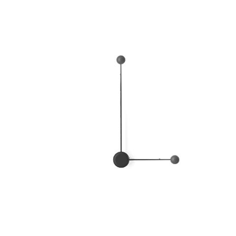 Настенный светильник копия Pin 1694 by Vibia (черный)