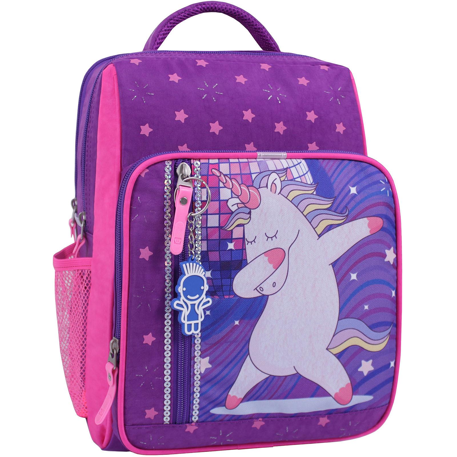 Детские рюкзаки Рюкзак школьный Bagland Школьник 8 л. фиолетовый 503 (0012870) IMG_1075_суб.503_.JPG