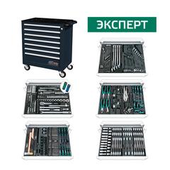 Инструментальная тележка с комплектом инструмента ЭКСПЕРТ