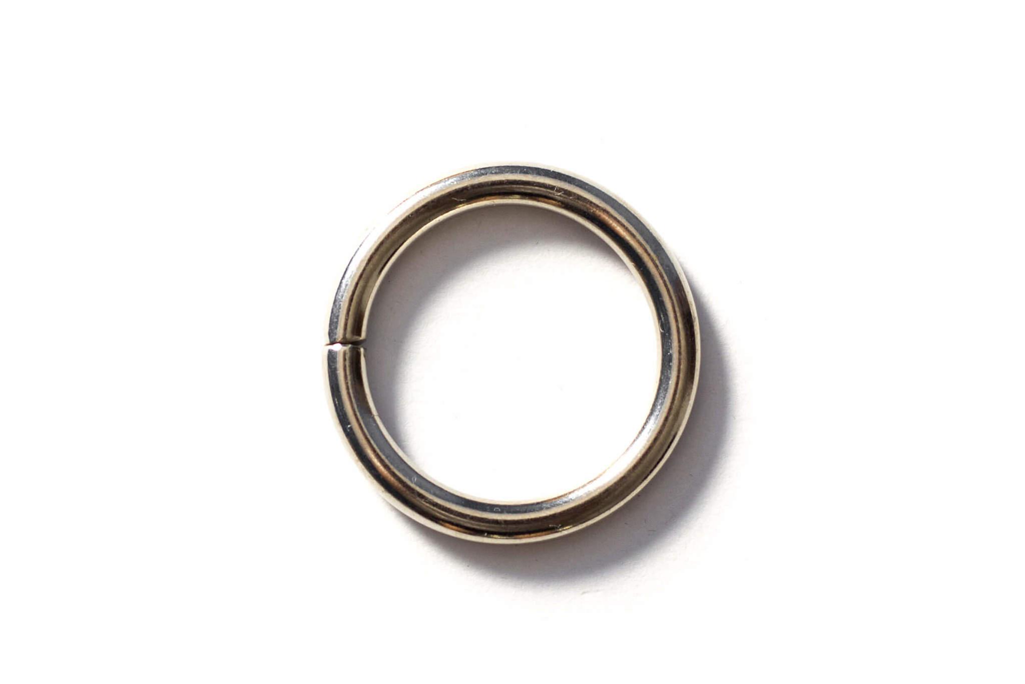Кольцо 25 мм - никель