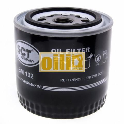 Фильтр масляный SCT SM102 (ВАЗ 2101-2107)