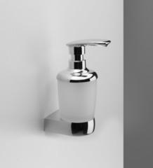 Дозатор для жидкого мыла AM.PM Sensation A3036900 стеклянный, с настенным держателем