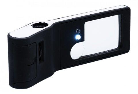 Многофункциональная лупа-микроскоп Magnifier с подсветкой