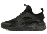 Кроссовки Мужские Nike Air Huarache Run Ultra Triple Black