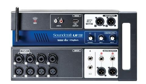 SOUNDCRAFT Ui-12 цифровой микшер