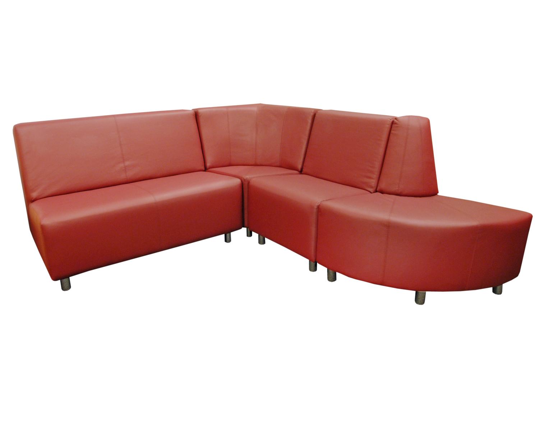 Комбинация из двух диванов, закрытого и открытого угла Денвер