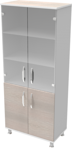 Шкаф медицинский общего назначения 2.01 тип 1 АйВуд Medical Office - фото