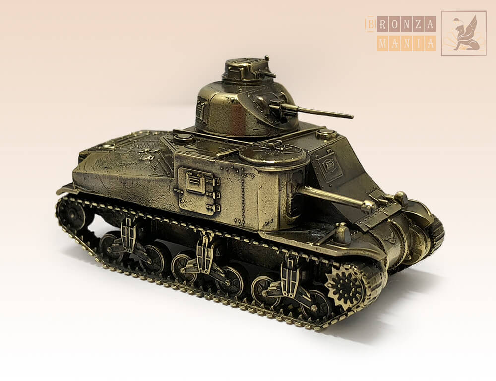 Танк М3 ЛИ - M3 Lee (1:100)
