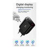 Сетевой адаптер на 3 USB Baseus Mirror Lake Intelligent Digital Display
