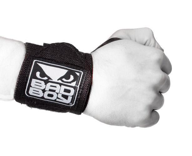 Суппорты Ремень для поддержки запястья Bad Boy Wrist Supports with Thumb Grip& 1.jpg